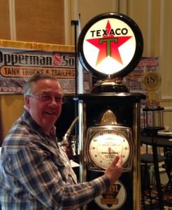 Bob with Texaco pump